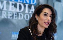 In a letter to Foreign Secretary Dominic Raab, Amal Clooney said she had no alternative but to resign after he made clear the Government would change its position.