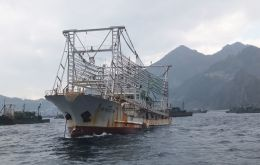 The new vessels are all large-scale squid jigging vessels of 65.16 meters long and with 1,227 gross tonnage