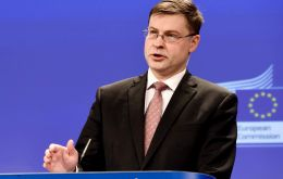 """A growing number of EU country states and interested parties underline the significance of sustainable development in Mercosur countries"" Dombrovskis said"