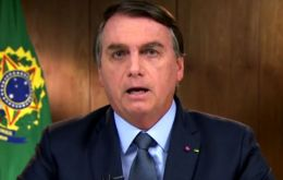 As the first speaker in the U.N. General Assembly's general debate, Bolsonaro said the nation's agribusiness sector has succeeded in boosting agricultural exports