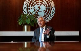 """As soon as the virus spread across the globe, inaccurate and even dangerous messages proliferated wildly over social media, leaving people confused, misled and ill-advised"", said António Guterres"