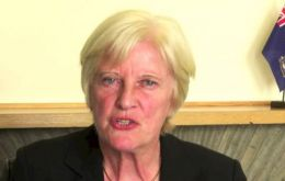 Ex MLA Phyl Rendell will chair the Committee for the 40th Anniversary of the Liberation of the Falkland Islands