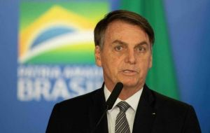 Bolsonaro sparked controversy when at the UN, he argued fires destroying large swaths of the rainforest were largely set by indigenous farmers