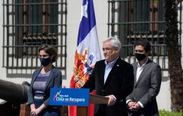 Piñera has in recent months announced emergency measures, such as soft loans, spot payments, mortgage payment holidays and rent subsidies worth 12% of GDP