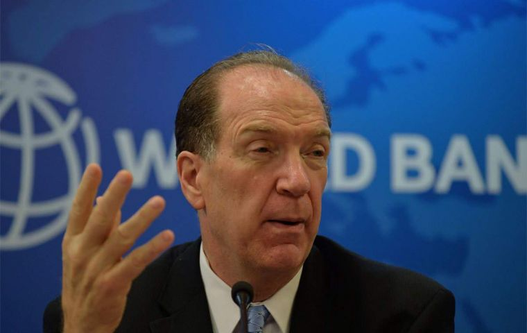 "WB president David Malpass told Le Figaro ""the process of distributing a vaccine is complex"" and it was important to anticipate the needs associated with it."