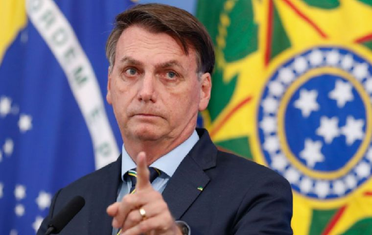 Bolsonaro launched his charm offensive as Brazilian markets wobbled for a second day on fears the spending spree shows he is unwilling to rein in record deficits