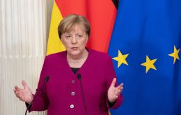 """I can't announce a breakthrough,"" Merkel told a news conference after two-day talks among EU leaders. ""As long as negotiations are ongoing, I'm optimistic."""