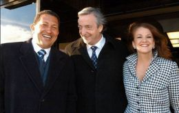 The diplomat as ambassador in Venezuela with Hugo Chavez and Nestor Kirchner