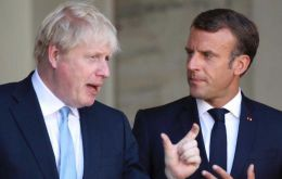 "Johnson told Macron ""intensive talks"" were needed to ""bridge significant gaps"" remaining across the negotiating table."