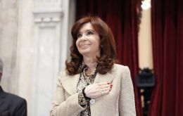 """The problem of the economy is Cristina Kirchner"" is the title of her publication in the newspaper La Nación"