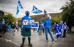 """Our latest poll will put a spring in the step of nationalists but makes grim reading for unionists,"" Emily Gray, the managing director of Ipsos MORI Scotland said."