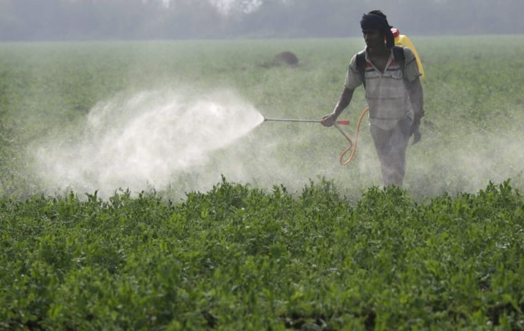 Switzerland is the headquarters of agribusiness firm Syngenta, which is one of the key producers of pesticides