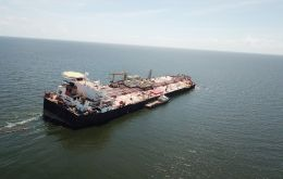 Venezuelan-flagged Nabarima has lain in the Gulf of Paria since January when US sanctions on Venezuela made it illegal for companies that operate in the U.S. to trade with PDVSA.