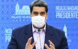 """It has been announced that the completed Russian and Chinese vaccines should arrive by December, January, and we are going to start vaccination,"" Maduro said"