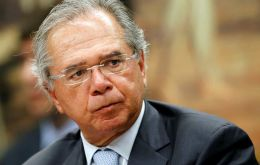 Brazil's Economy Minister Paulo Guedes said the agreement comes at the right time for Brazil, which is trying to deregulate and liberalize many areas of its economy