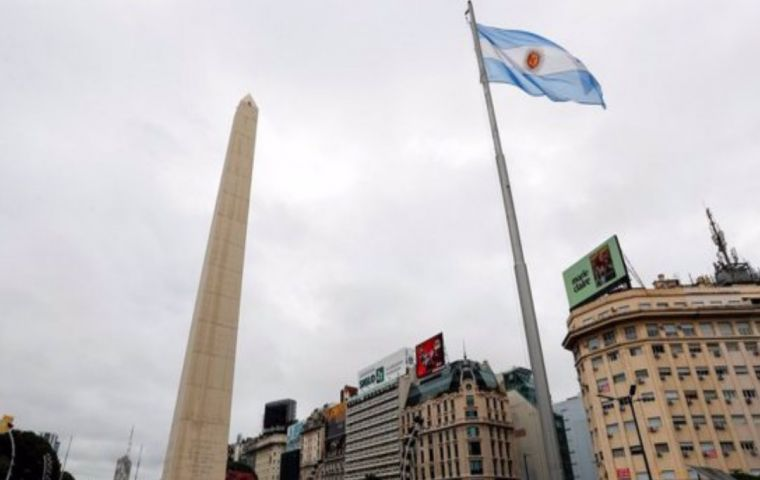 Argentina is headed for a near 12% economic contraction this year due to the coronavirus pandemic