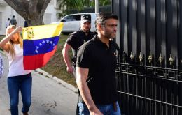 Leopoldo Lopez has been holed up at the Spanish ambassador's residence since a failed military uprising aimed at ousting President Nicolás Maduro