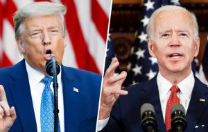 Trump trails Biden in national opinion polls as most voters say they disapprove of the Trump administration's handling of COVID-19