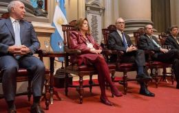 The three magistrates involved in the controversy have in their courts cases referred to Kirchner family and associates alleged corruption practices