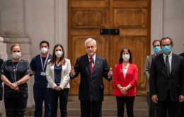 """We all know that a safe, effective and readily-available vaccine to all those who need it will be a huge contribution to the fight against Covid 19,"" Piñera said."