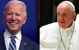 "During a bitter 2020 campaign, Biden quoted Pope John Paul II, frequently invoked his Irish Catholic roots and pledged to ""restore the soul of America"""