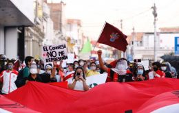 The unrest during the past four nights, and other more peaceful protests in Lima and other cities, are piling pressure on Congress and president Manuel Merino.