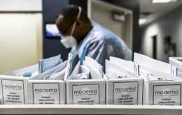 Moderna Inc said its experimental Covid-19 vaccine was 94.5% effective in preventing infection based on interim late-state data