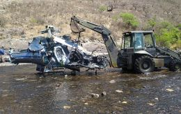 Jorge Horacio Brito, 68, died on Friday afternoon following a helicopter crash in the northern province of Salta