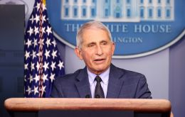 Dr Anthony Fauci spoke at a rare briefing from the White House virus task force to reassure concerns about the two vaccines: Pfizer/BioNTech and Moderna