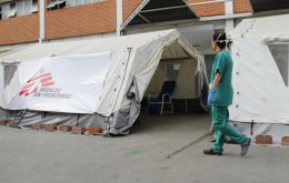 Doctors Without Borders, said restrictions made it impossible to operate out of the Ana Francisca Perez de Leon II hospital in a poor neighborhood of Caracas