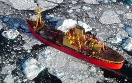 Antarctica I project will replace the Navy's current icebreaker Oscar Viel