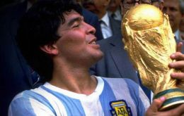 The Golden Boy, 1986 World Cup champion