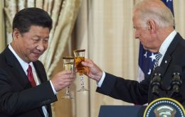 "Two-and-a-half weeks after Biden was declared president-elect, Xinhua reported Xi sent a message calling for ""a healthy and stable development of China-U.S. ties."""