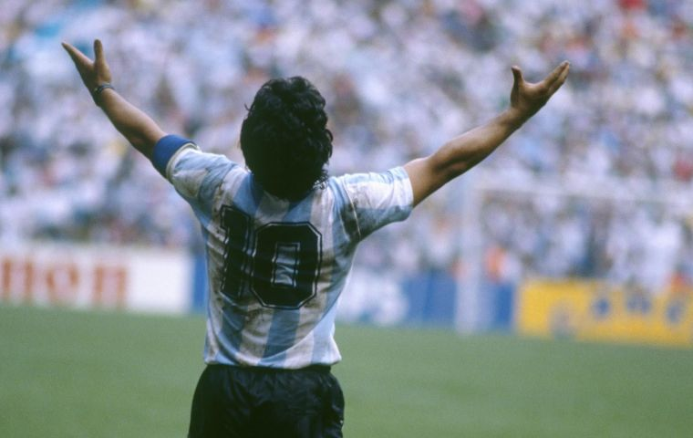 The life-size statue will be 3D-printed and depict Maradona in his glory days, according to Eurnekian's spokeswoman, Carolina Barros