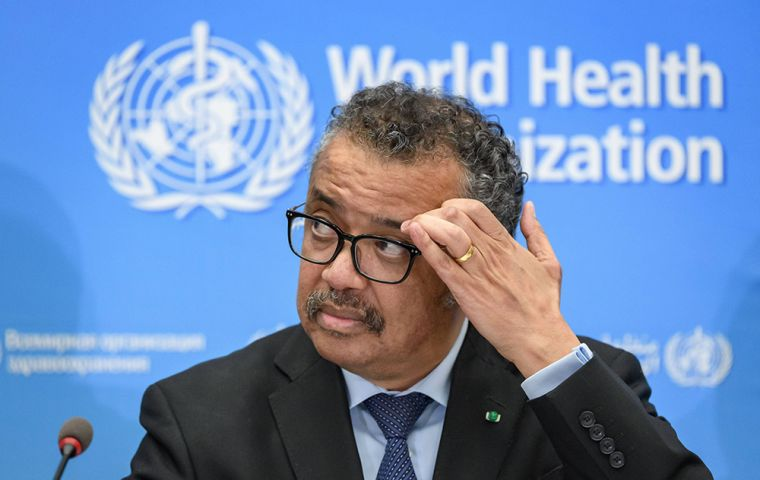 """I think Brazil has to be very, very serious,"" in combating the surge there. Tedros echoed the same concern for Mexico, which he said was in ""bad shape."""
