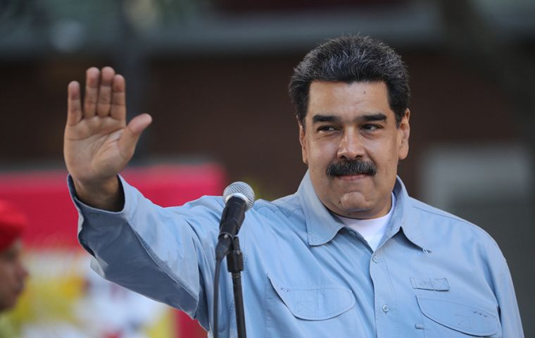 "The Chinese company supported government of Mr. Maduro in its ""efforts to restrict internet service and conduct digital surveillance and cyber operations against political opponents."""