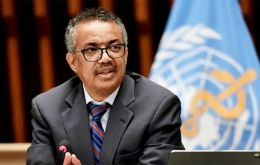 """Progress on vaccines gives us all a lift and we can now start to see the light at the end of the tunnel¨, said WHO chief Tedros"