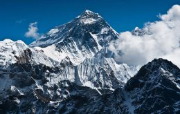 Employing trigonometry hundreds of kilometers away on the Indian plains, British  geographers first determined Everest's height in 1856 at 8,840m above sea level.