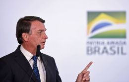 President Jair Bolsonaro tweeted that Brazil will make any vaccine available free of charge to anyone who wants it, once its approval has been signed off by Anvisa.