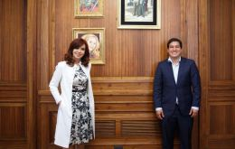 Cristina Fernandez met in Buenos Aires with Ecuadorian citizen Andrés Arauz, who is running instead of former populist president Rafael Correa, indicted on several corruption charges