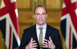 Foreign, Commonwealth and Development Secretary, MP Dominic Raab