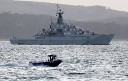 Officials confirmed that the Royal Navy is set to deploy its four River Class offshore patrol boats to stop EU fishing boats illegally entering British waters