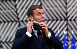 An Elysee official described Macron as tired and having a cough, and said that it was not excluded that he be moved to a presidential retreat close to Versailles