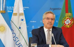 Solá said Argentina wants a greater trade and physical integration of Mercosur, which also includes Brazil, Paraguay and Uruguay, and aspires to the incorporation of Bolivia