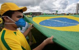Brazil's economy is expected to contract this year due to the impact of the novel coronavirus pandemic, despite seeing a recovery in recent months.