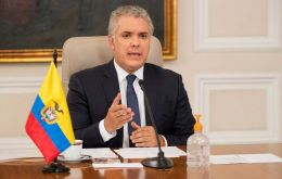 President Ivan Duque announced a trial vaccination run could begin between this week and the first week of January