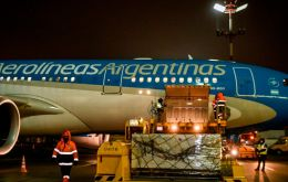 On Tuesday, an Aerolineas Argentinas flight left for Moscow to collect the first 300,000 doses of the Sputnik V vaccine developed by the Gamaleya lab