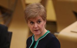 "Ms Sturgeon said it appeared that ""major promises"" made by the UK government on fisheries had been broken…""and will become apparent to all very soon"""