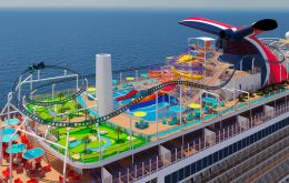 "Mardi Gras, Carnival Cruise Lines's largest ""Fun Ship"" ever, is ready to set sail. Of course, it will be months before even the first traveler steps on board."