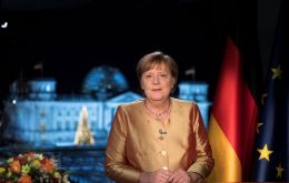 """Let me tell you something personal in conclusion: in nine months a parliamentary election will take place and I won't be running again,"" said Merkel, 66."
